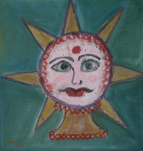 Gods, Deities & Ghosts - An Indian Sun God