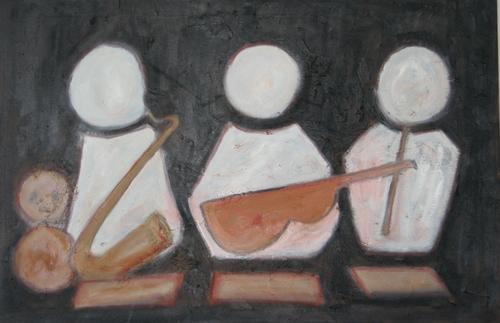 Musicians Series - Three Musicians