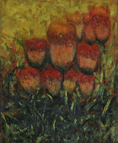 Tree & Flora Series - Cock's Comb Flower