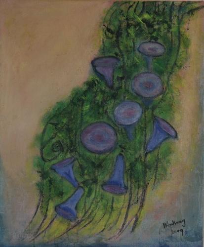 Tree & Flower Series - Morning Glory