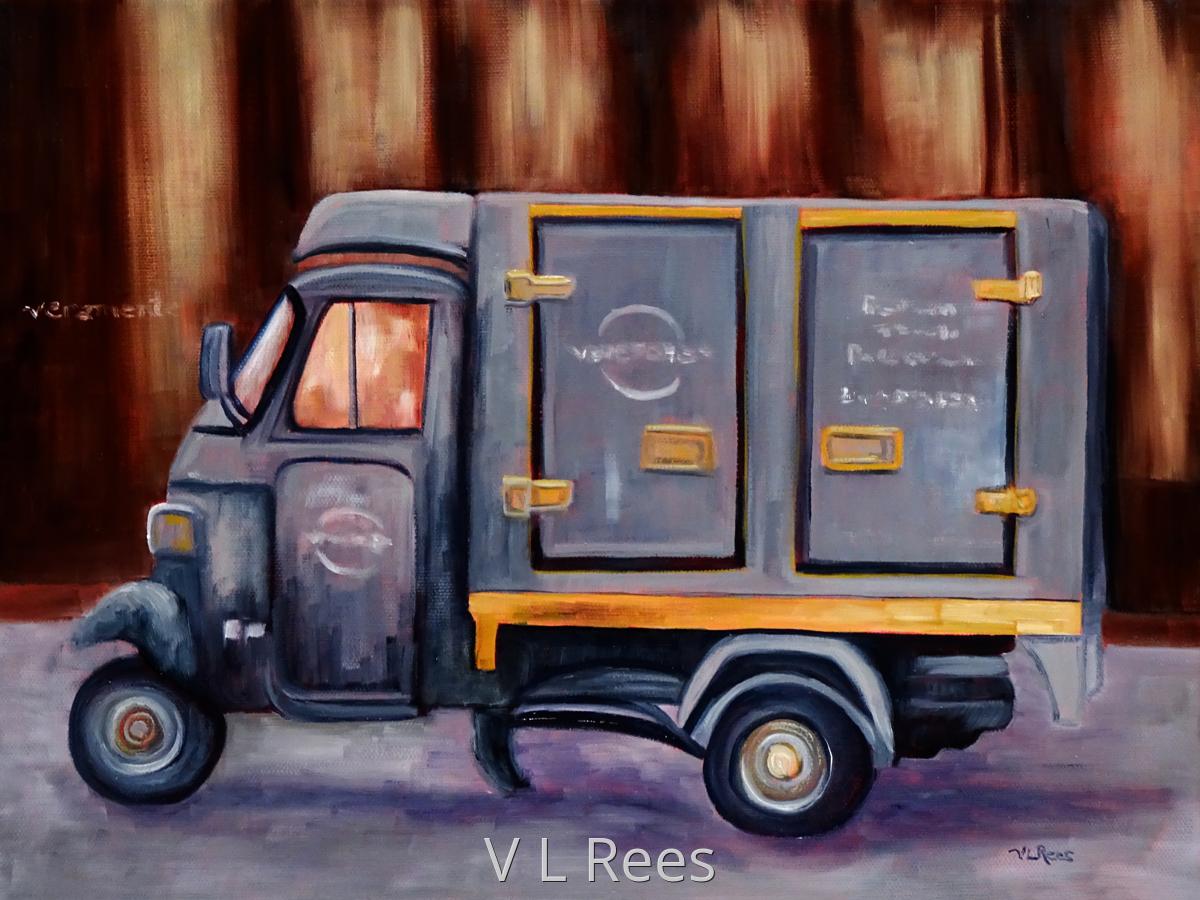 Paris Delivery Van (large view)