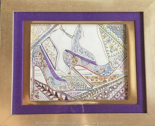 Stilettoes by Contemporary Art by Vicki Robinson
