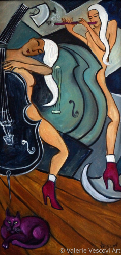 Black Cello, Pink Flute