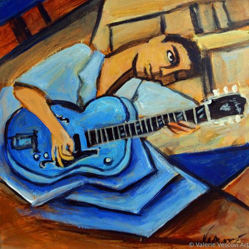 Blue Gibson