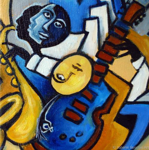 Le Guitare Bleue