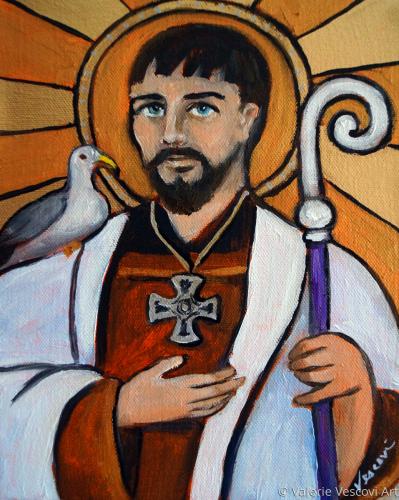 St. Cuthbert of Lindisfarne Wonderworker