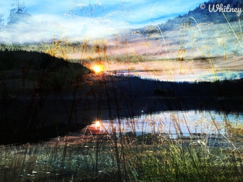 Digital Photography - Sunset on the Lake