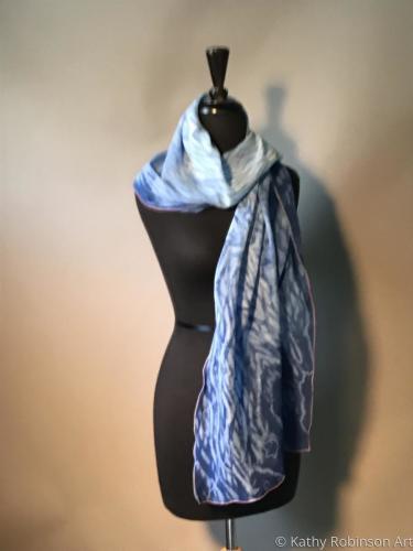 Blue Wave scarf