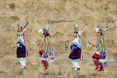 Dancers of the Rainbow by Wayne Beyale