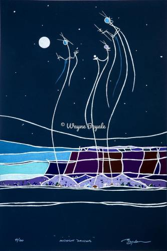 Midnight Dancers by Wayne Beyale