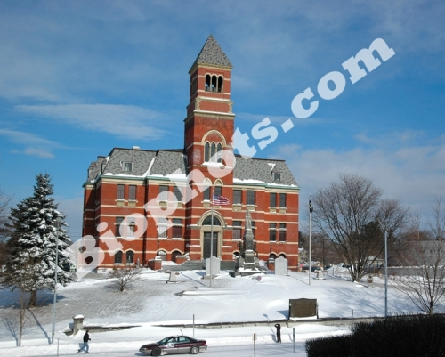 Kingston City Hall in Snow