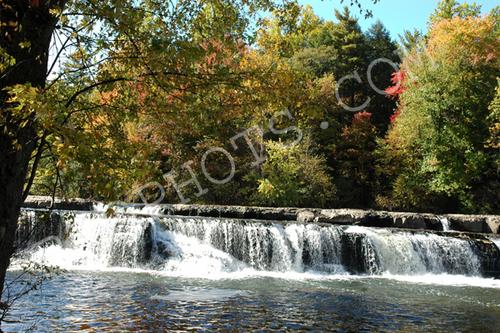 Fall colors at Glenerie Falls, NY
