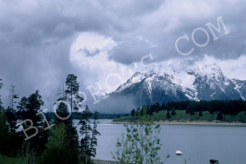 Grand Tetons Snow Squall
