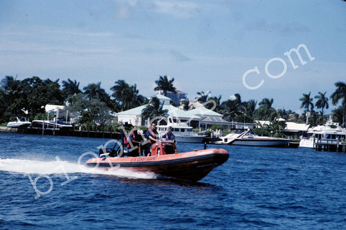 U.S. Coast Guard Inflatable Boat