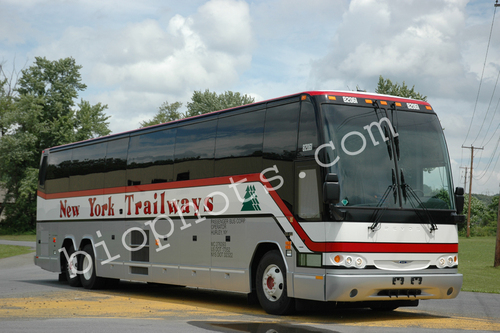 Prevost Model H45 2006, NY Trailways
