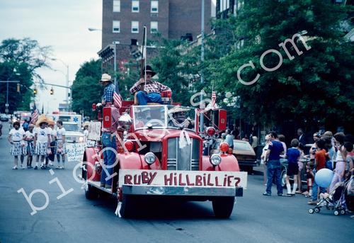 Ruby Hillbillies Float