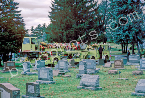 Hook and Ladder at Funeral