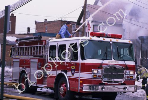 Downs Street Fire Deck Gun Engine 2