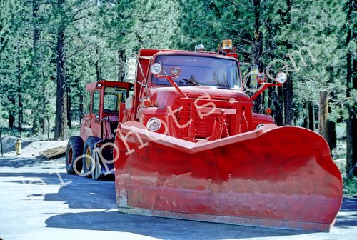 Plow Mammoth Lakes Fire Department