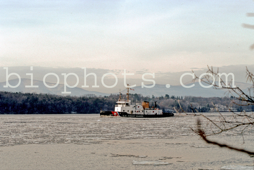 Coast Guard Ice Breaker 109 On Hudson