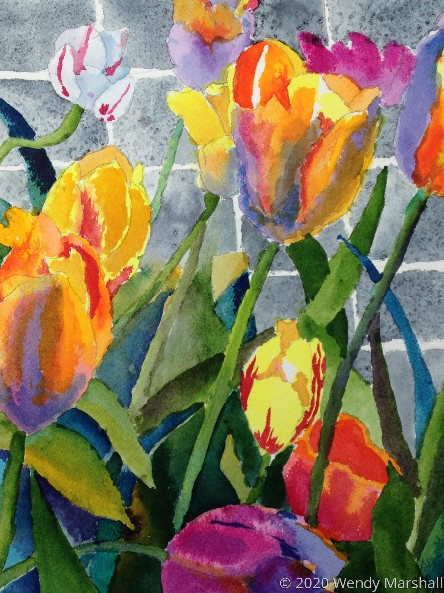 JoAnn's Tulips (large view)