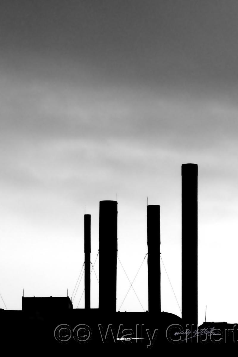 Chimneys - Boston #1BW (large view)