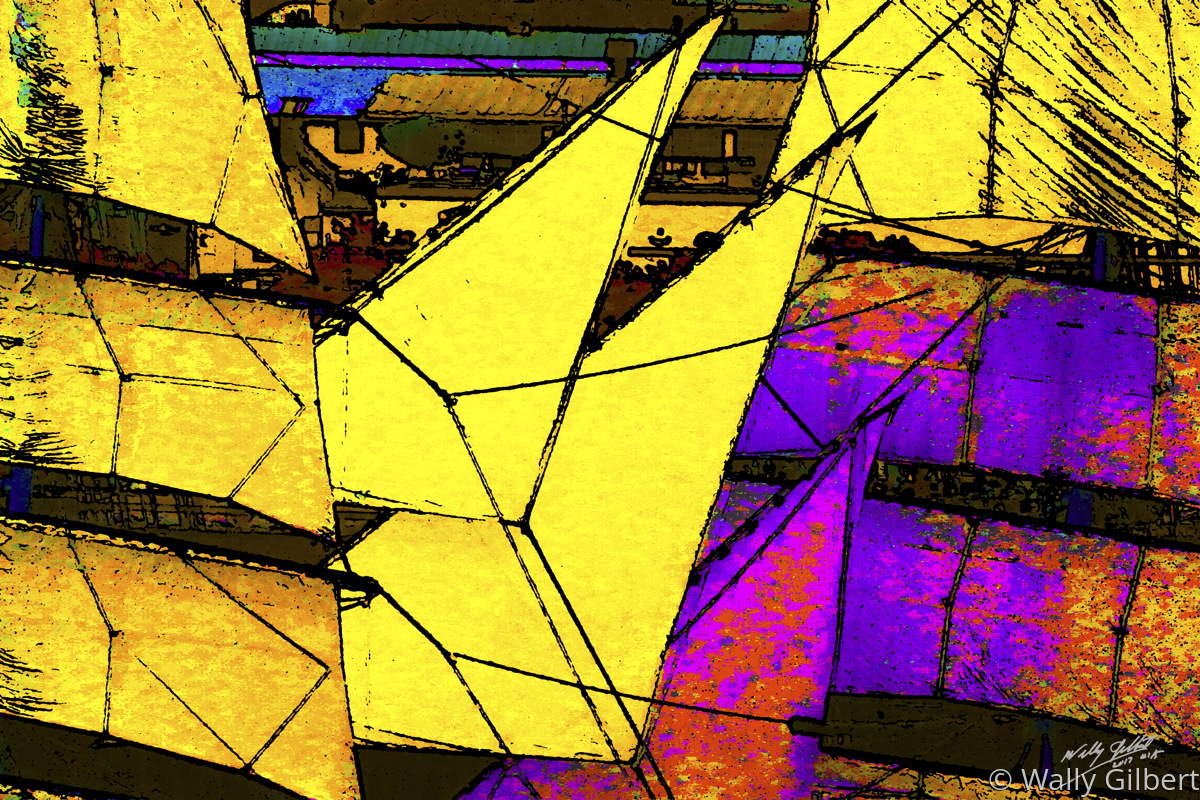 Sails #2 - Yellow (large view)