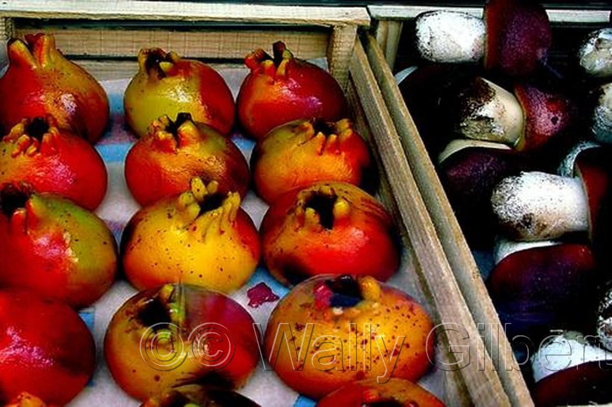 Marzipan Pomegranates- Sicily (large view)