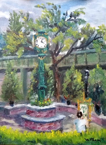 Cranford Center by William Palm - Fine Art