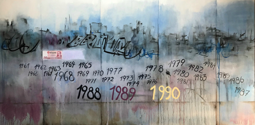 Cirriculum Vitae - Berlin Wall by William Chill