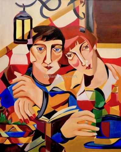 Moïse et Renèe Kisling by William Z. Linmark