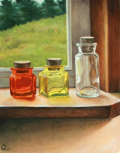 Glass jars by Betsy Williams