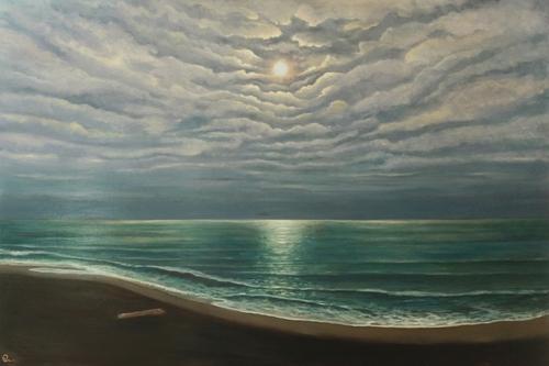 Moonlight meditation by Betsy Williams