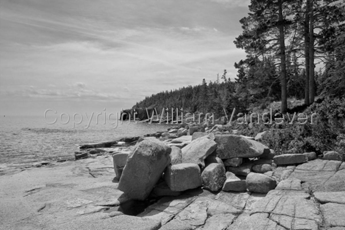 Boulders - Acadia Coast (large view)
