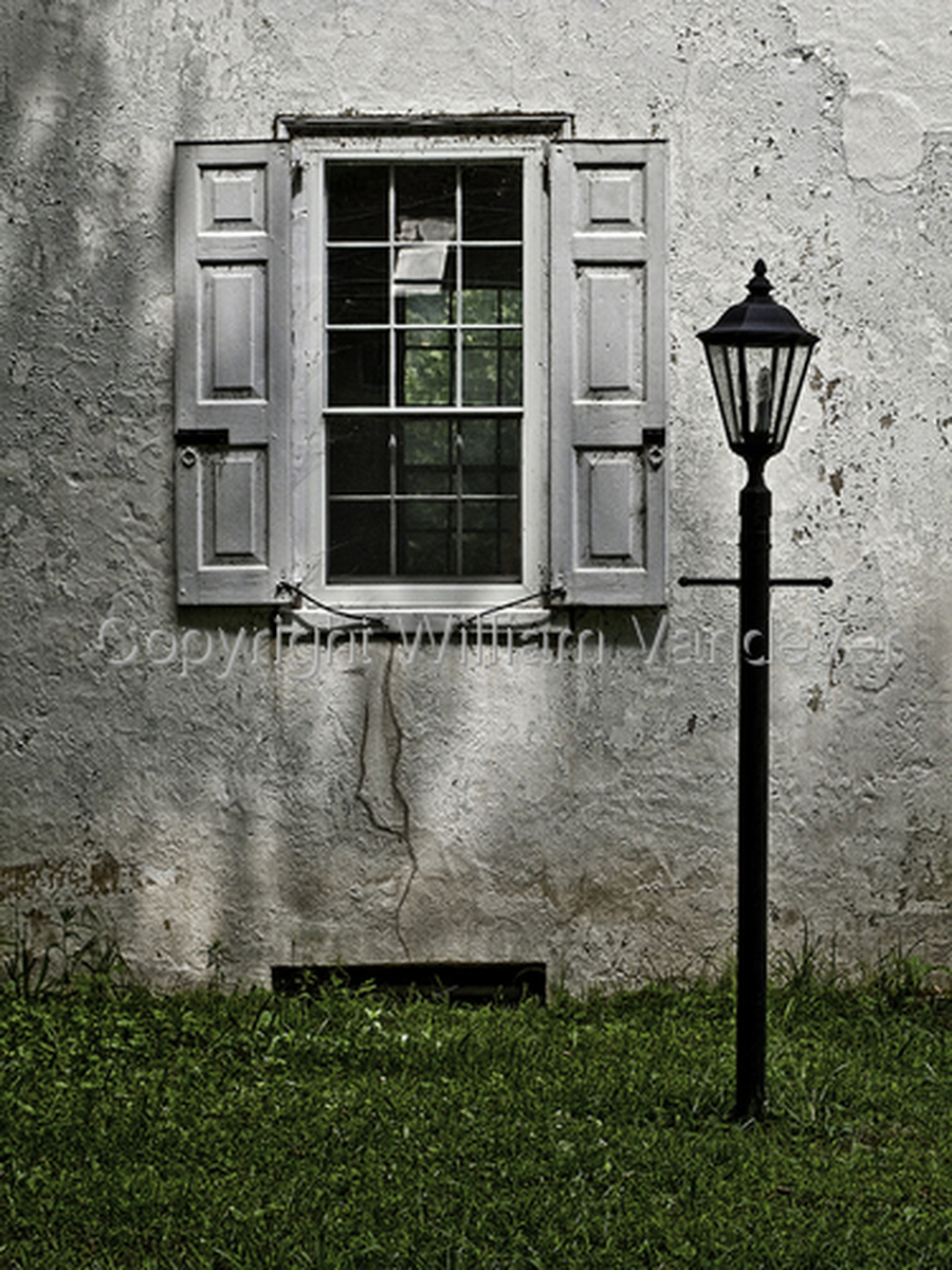 Lamp Post and Window (large view)