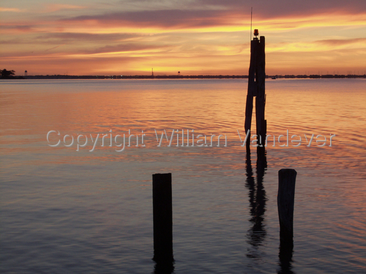 Sunrise on Toms River (large view)