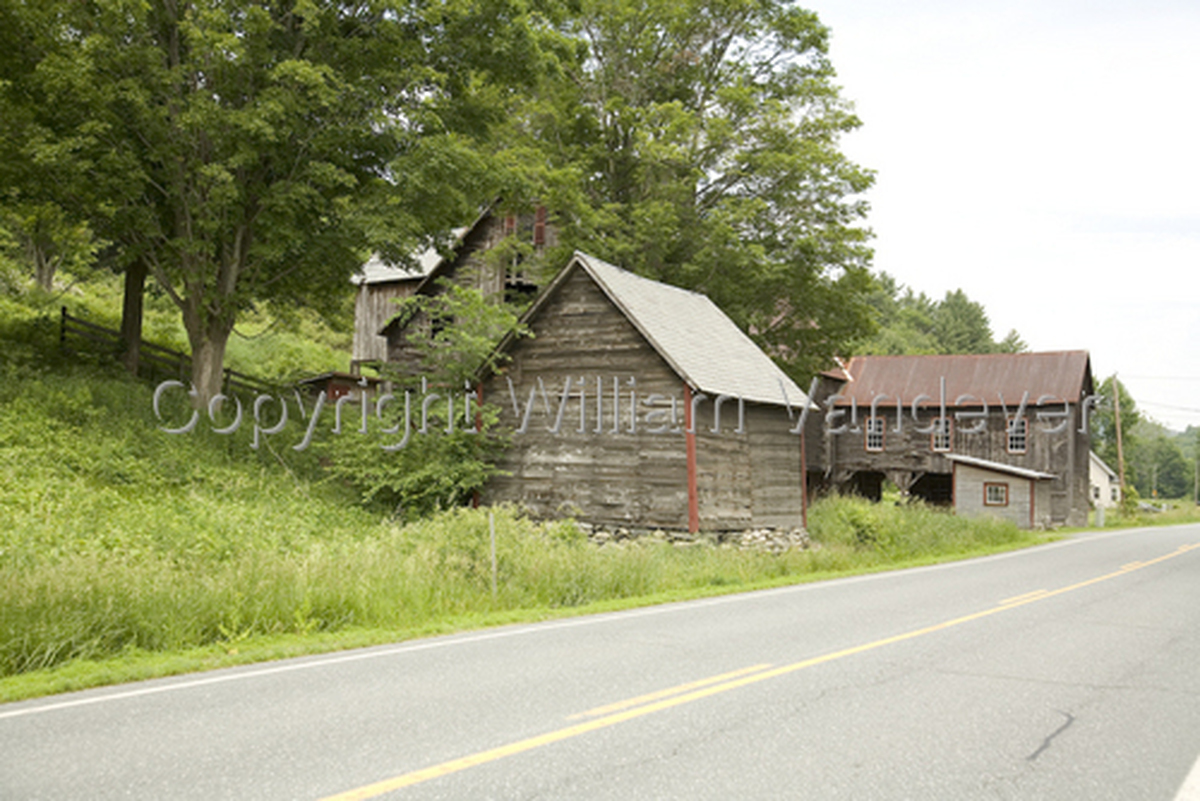 Vermont Barn & Road I (large view)