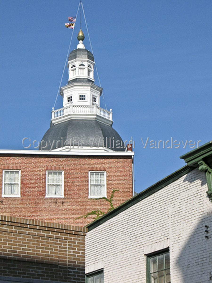 Annapolis State House (large view)