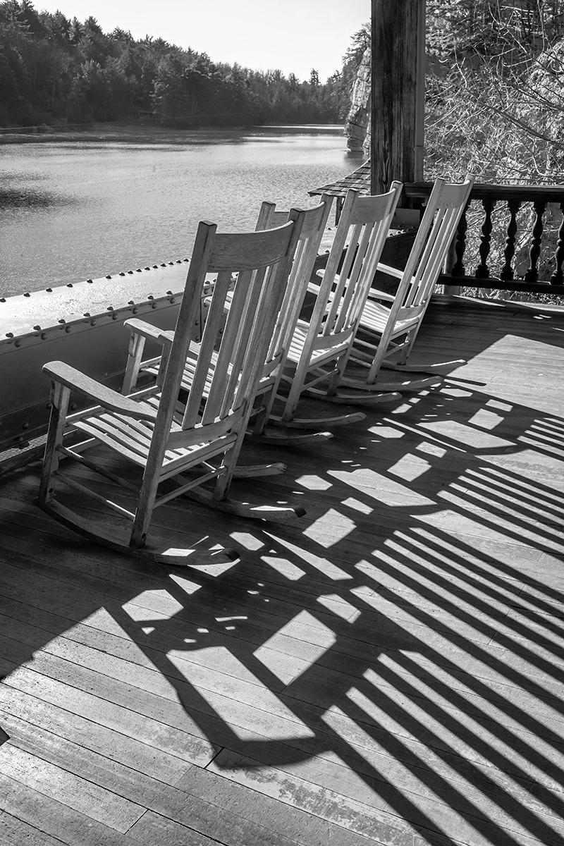 Chairs #4 - Mohonk Mountain House Porch (large view)