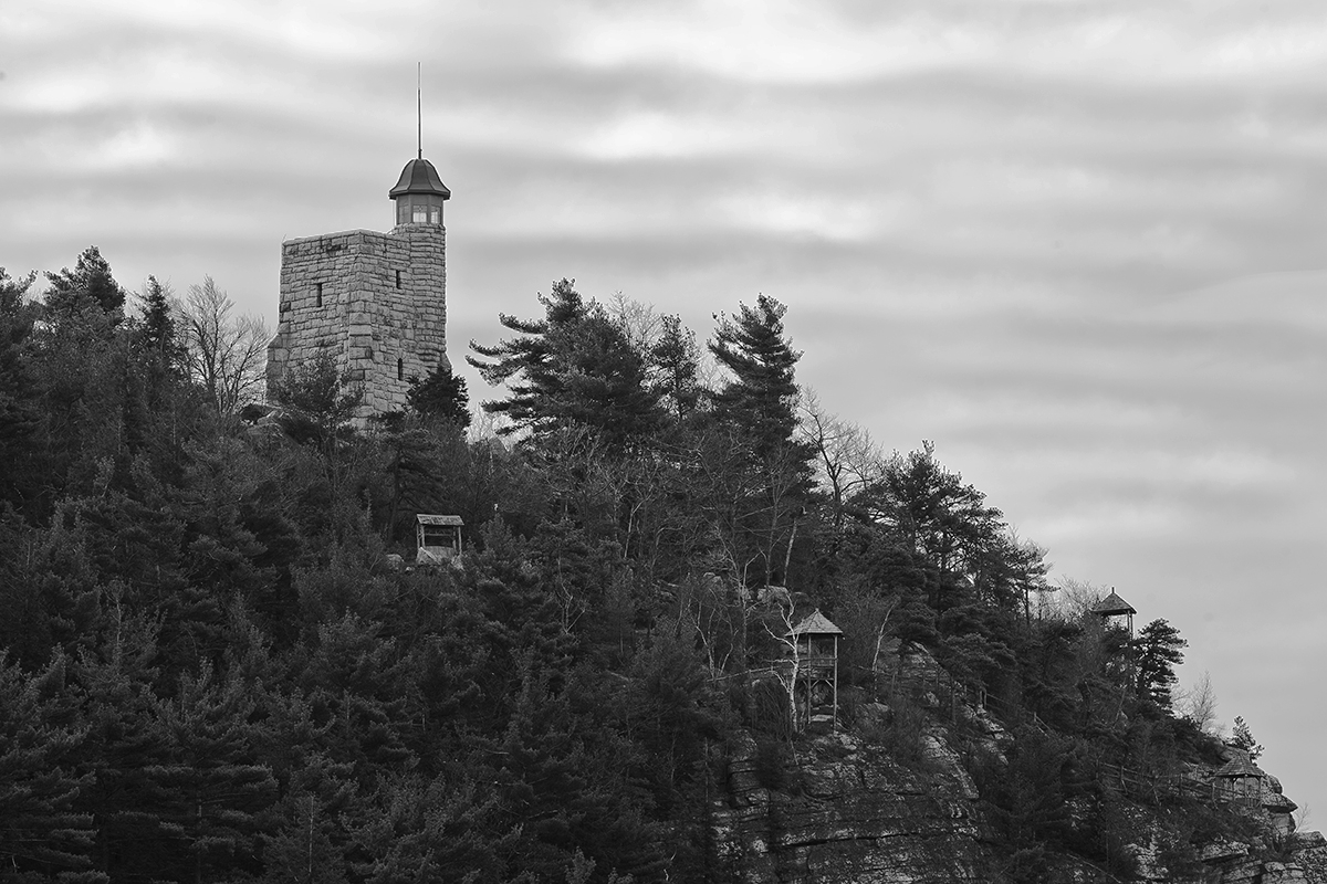 Tower / Mohonk Mountain House by William Vandever (large view)