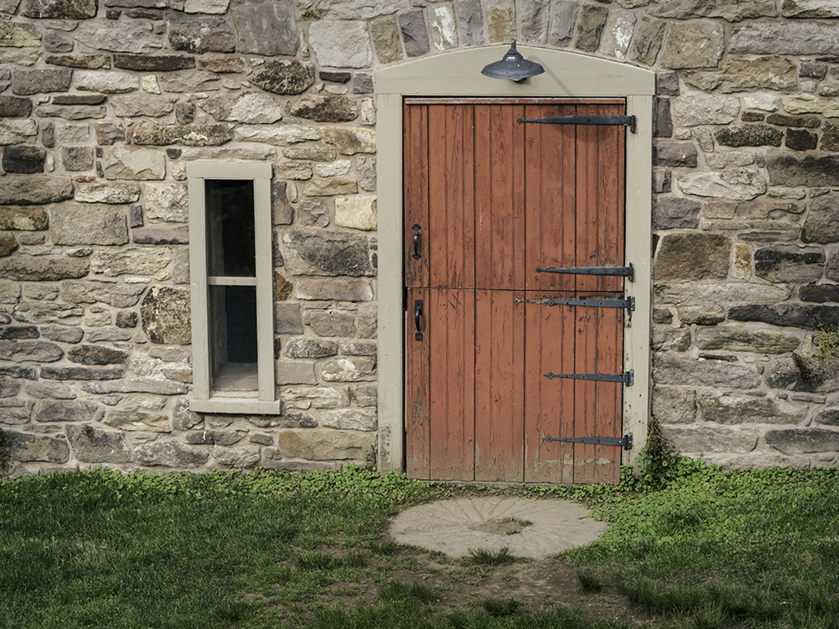 Stone Mill Door (large view)