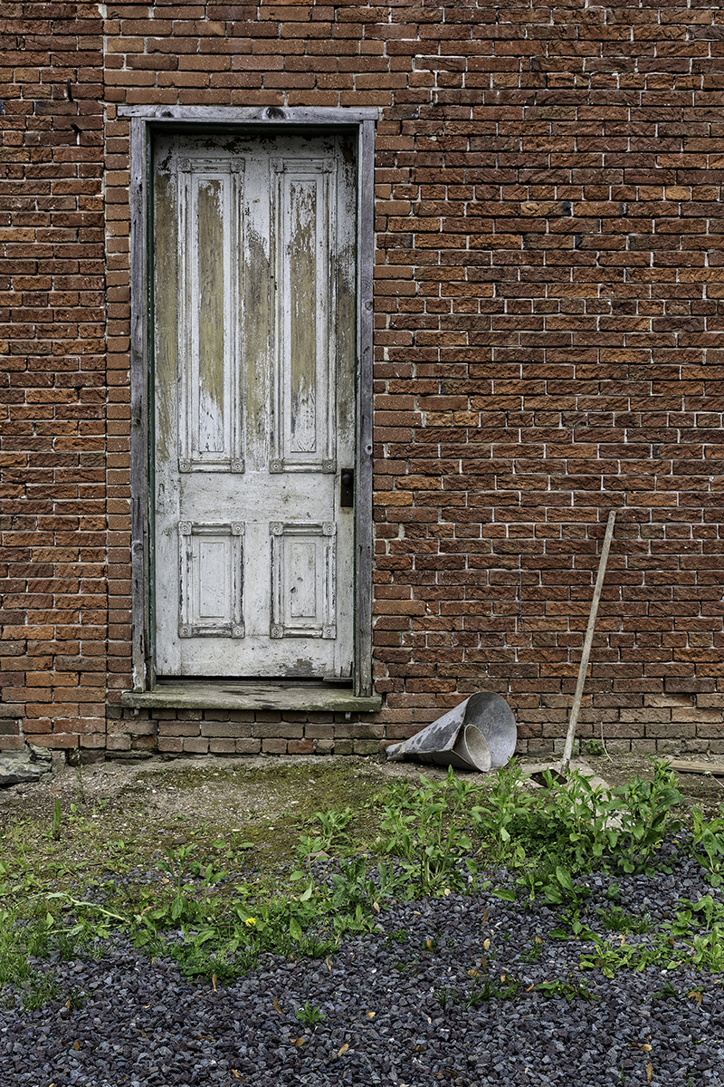 Door, Funnels and Hoe (large view)