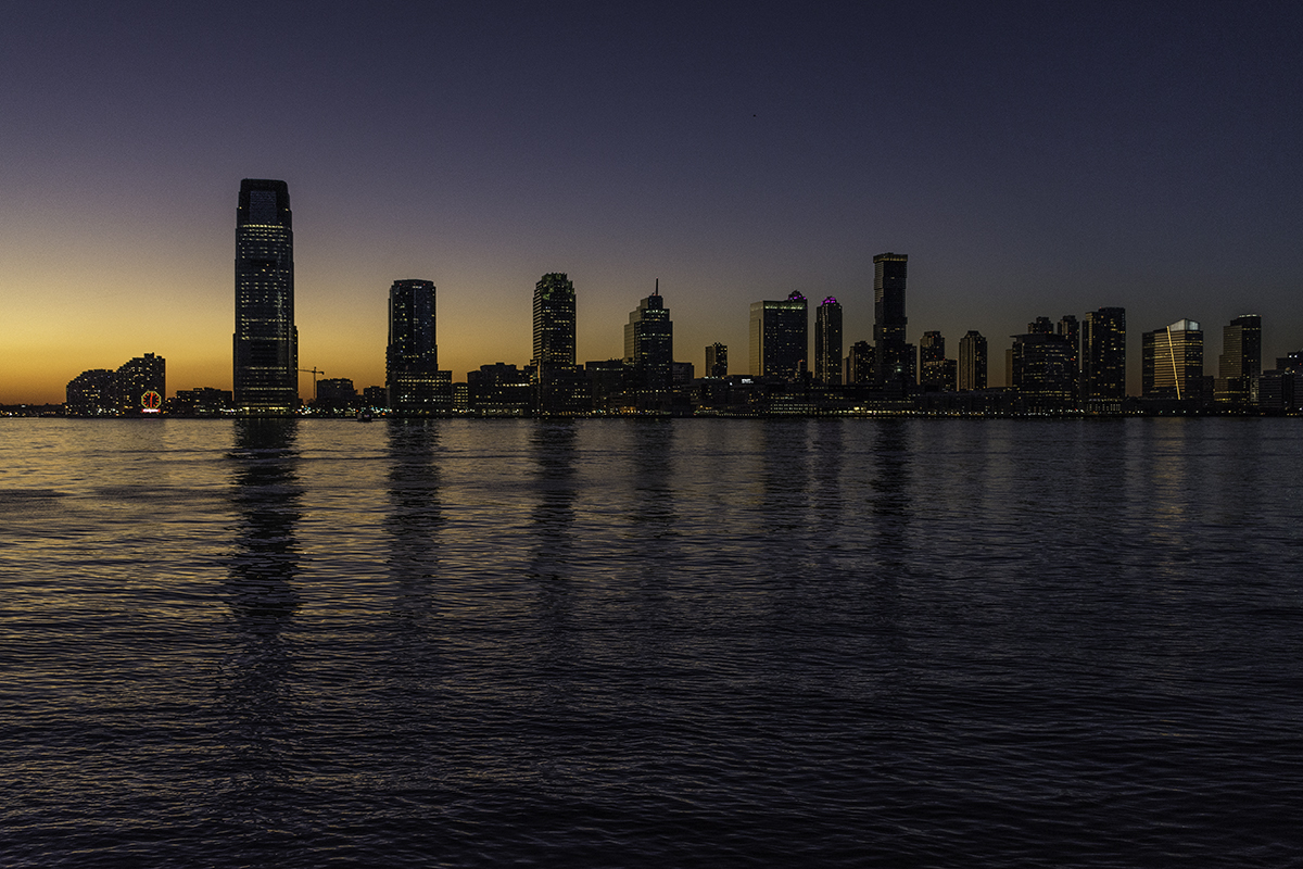 Jersey City Waterfront from the Battery (large view)