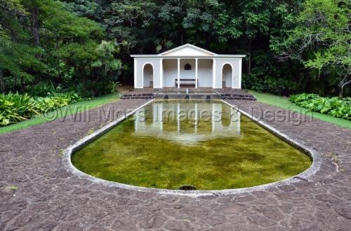 Allerton Garden Reflecting Pool, Kauai, Hawaii