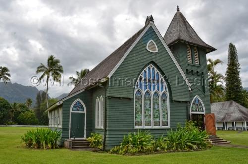 Wai'oli Hui'ia Church, Hanalei Hawaii