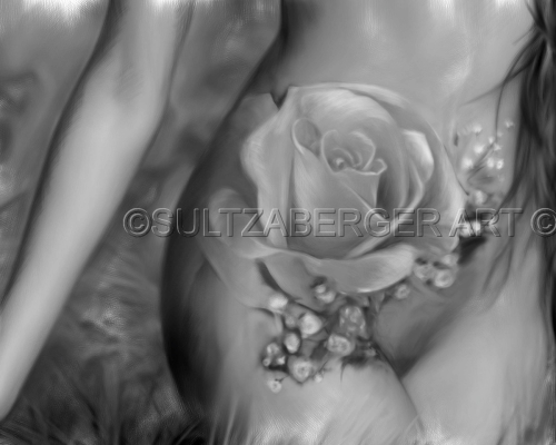 Painting #20 Rose Tattoo