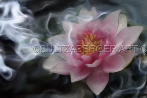 Painting #26 Smokey Lily by William Sultzaberger