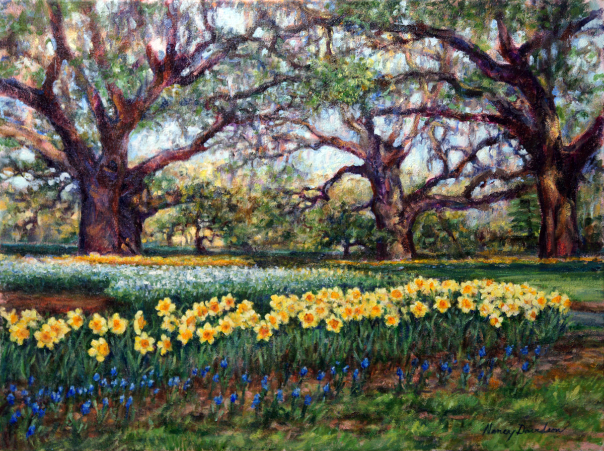 Botanical Oil Paintings: Spring Awakens At Brookgreen Gardens By ...