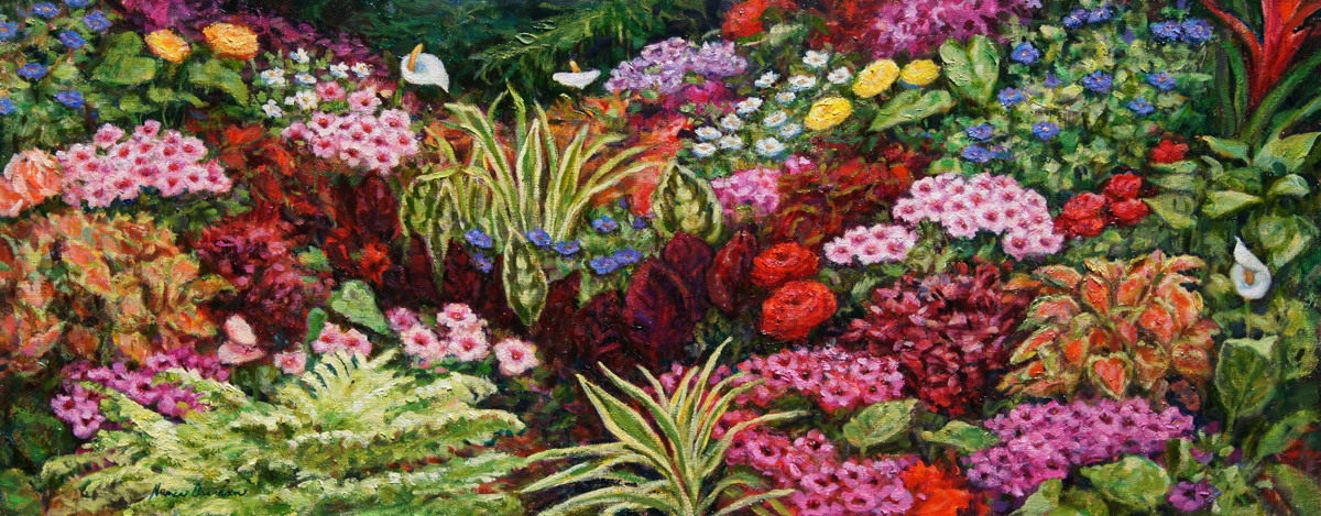 Flora of Butchart Gardens (large view)