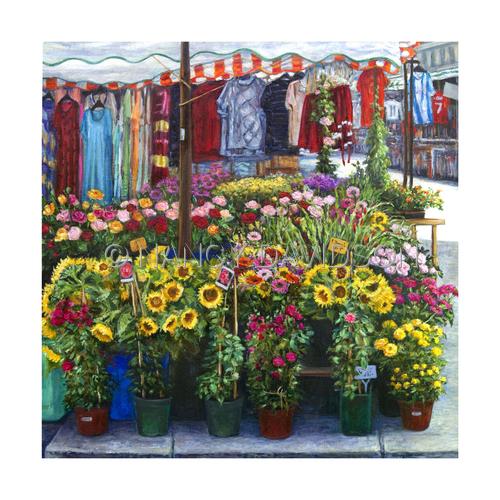 Viennese Flower Market